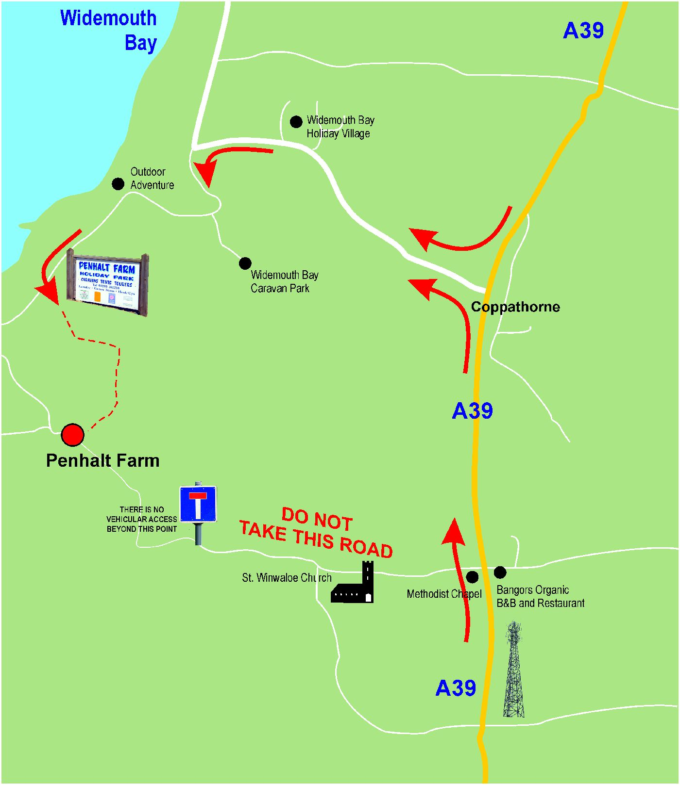 directions to penhalt farm